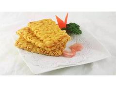 玉米片虾排