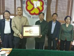 我司成为福建省诚信促进会会员单位    董事长谢志扬当选促进会常务理事