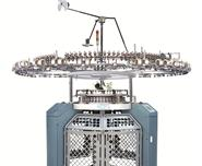 VELOUR KNITTING MACHINE