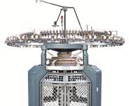 Velour shearing Knitting machine