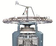 INTERLOCK (DOUBLE KNIT) KNITTING MACHINE