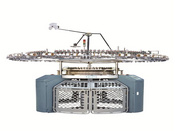 DOUBLE LOOP TERRY KNITTING MACHINE