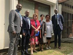 亚美和卢旺达合作事宜